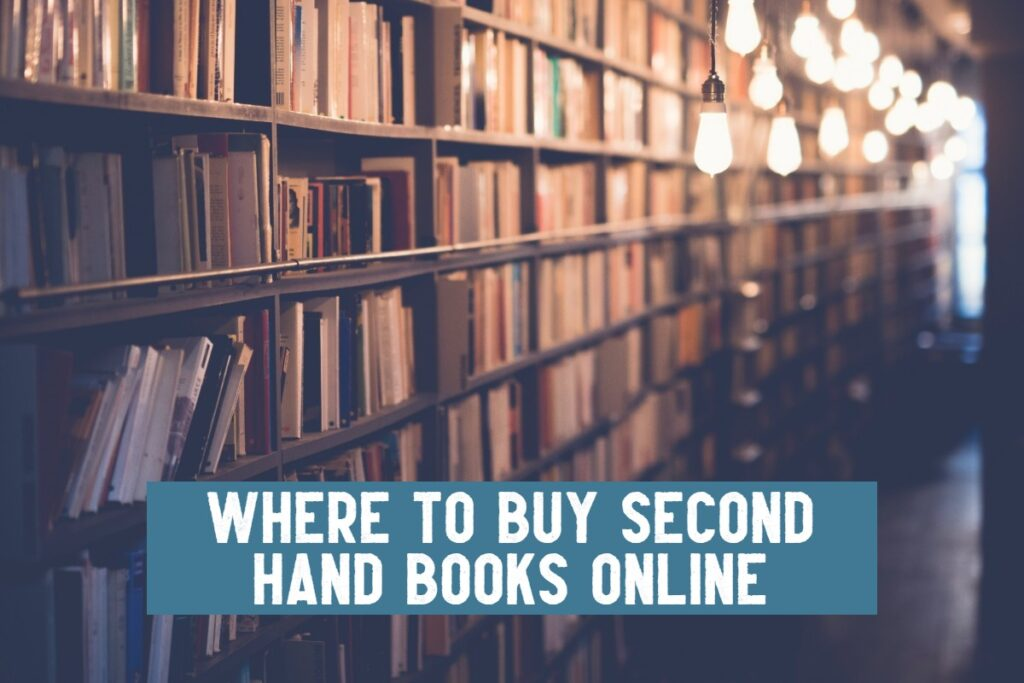 where to buy second hand books online
