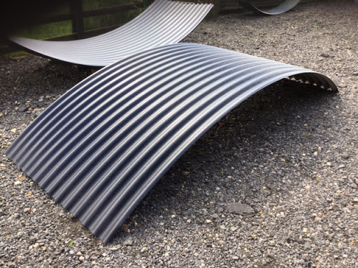 shepherds hut roof sheets corrugated iron and steel