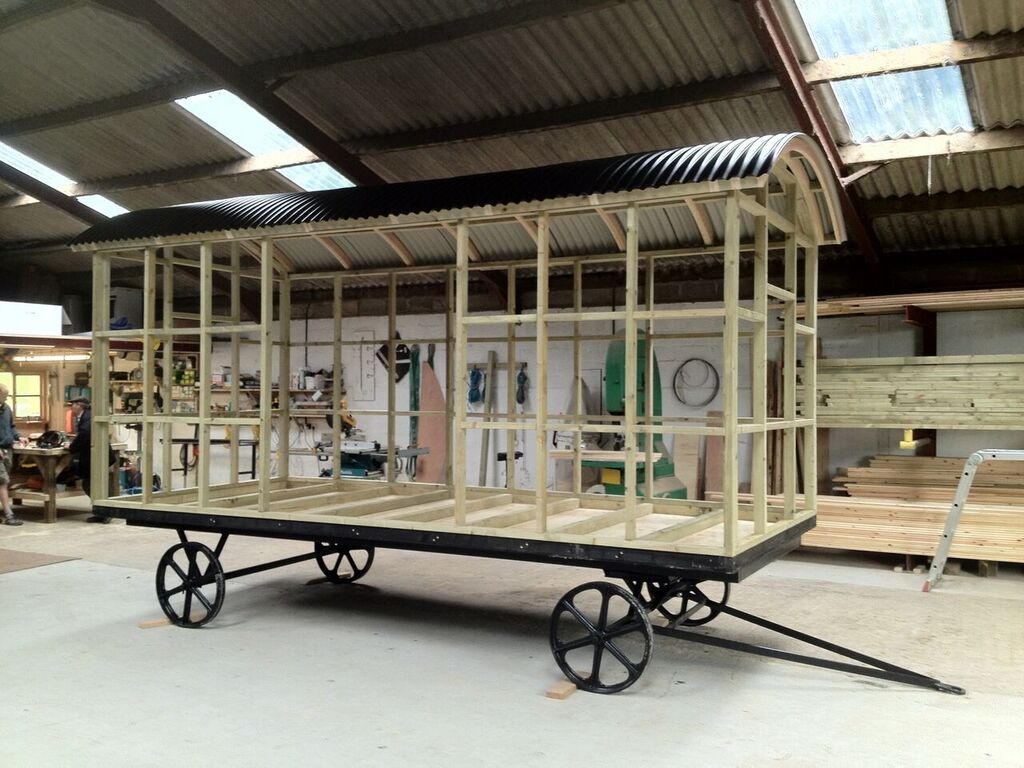 steel frame chassis blackdown huts