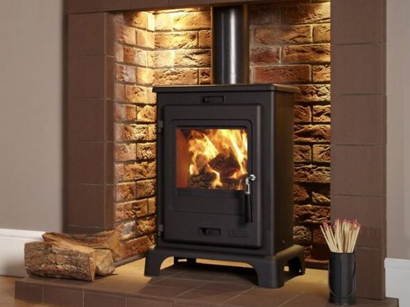 flavel dalton defra approved stove cast iron