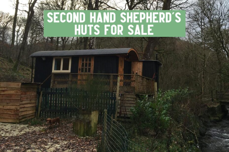 second hand huts for sale where to find uk
