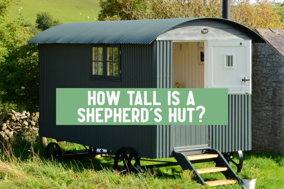 shepherds hut height white peak hut