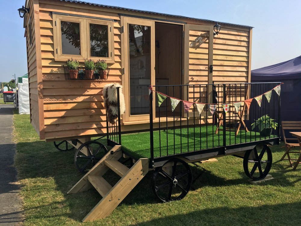elwy valley shepherds hut for sale in north wales