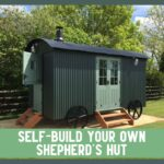 self build shepherds hut kit tithe