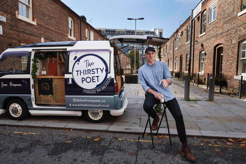 thirsty poet manchester mobile coffee van