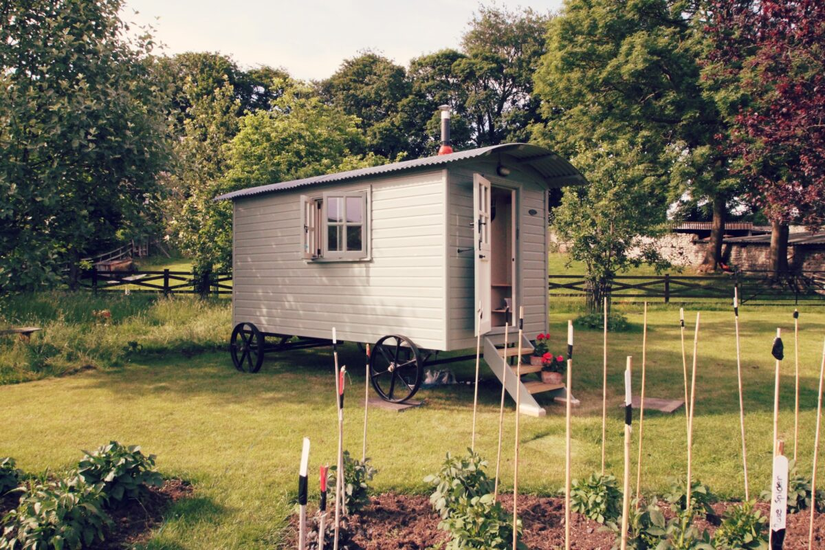 Find a Shepherd's Huts for Sale in the North East (Yorkshire, Northumberland and Durham)