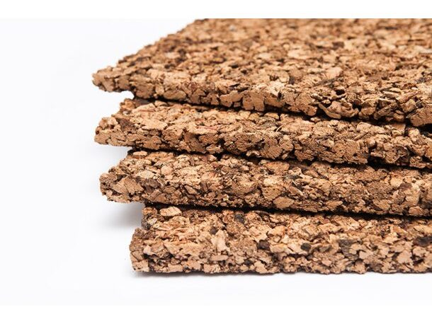 cork sheets providing thermal eco friendly insulation