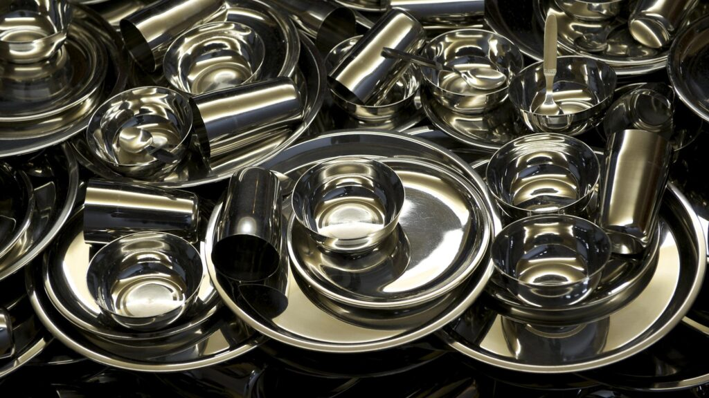 stainless steel tableware and kitchen products