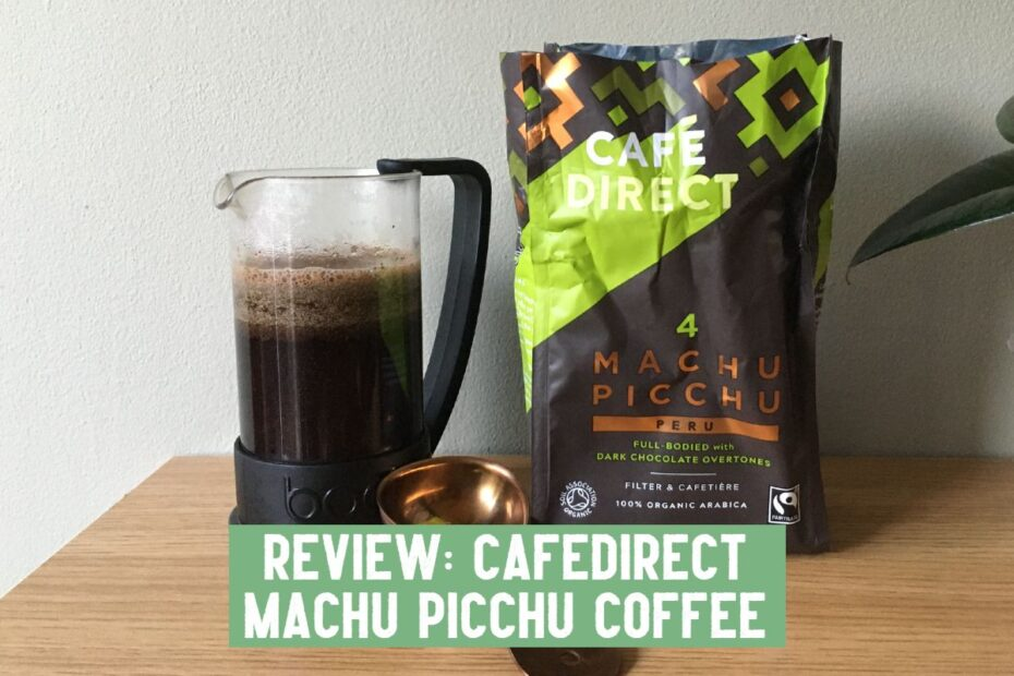 cafedirect machu picchu coffee review
