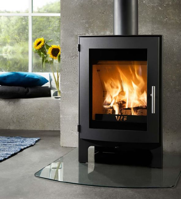 westfire uniq 17 small wood burning stove defra approved