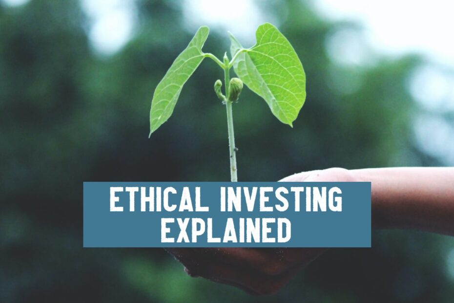 ethical investing explained little green tree growing