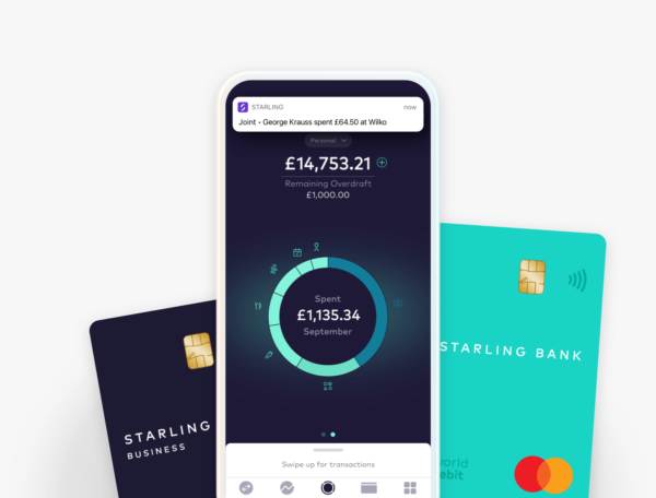 starling bank graphic