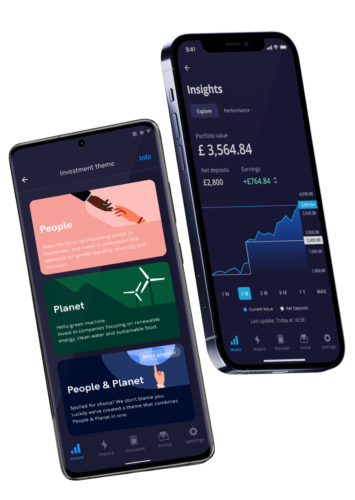 tickr mobile impact investment app