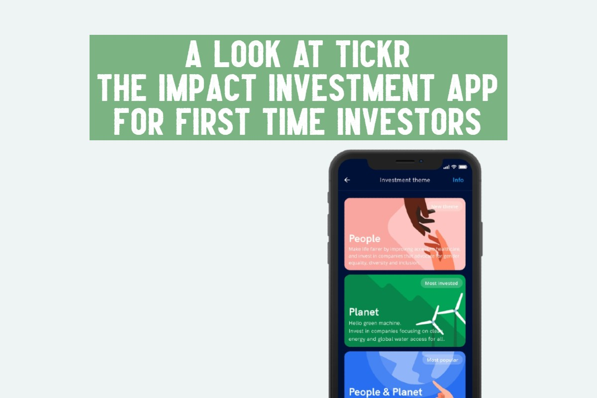 tickr review impact investment app