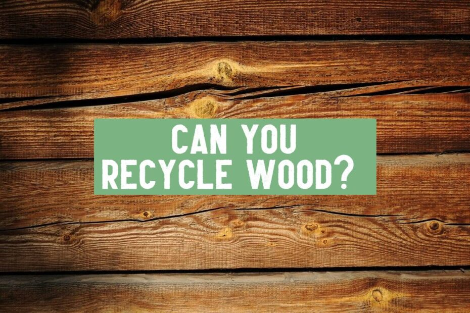 can you recycle wood