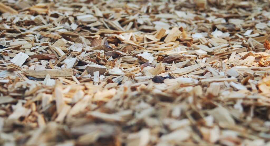 wood chip bark mulch has a number of purposes when recycled