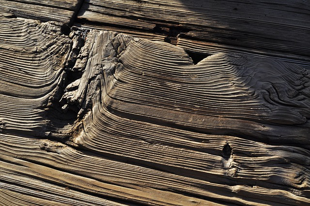 characterful dent reclaimed timber