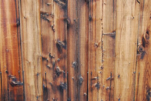 reclaimed wood fence