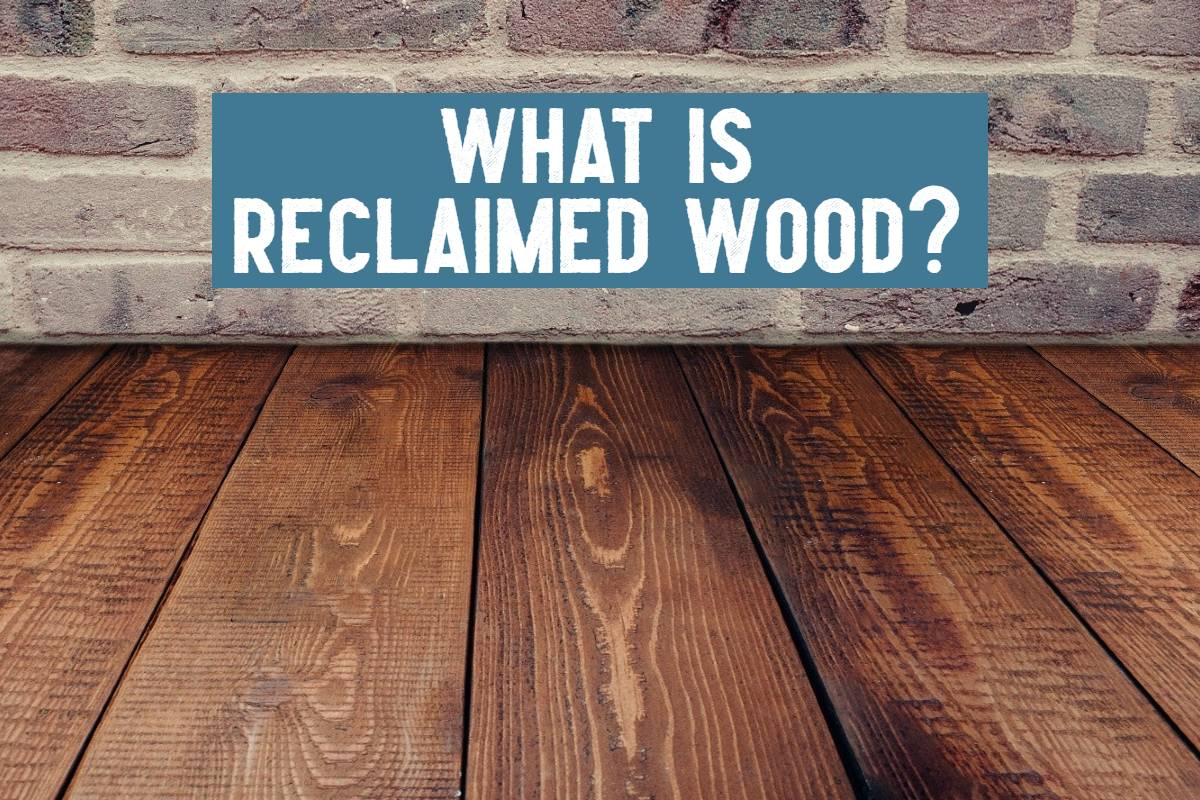 what is reclaimed wood title