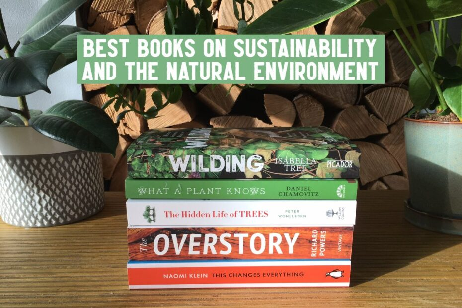 best books on sustainability and natural environment