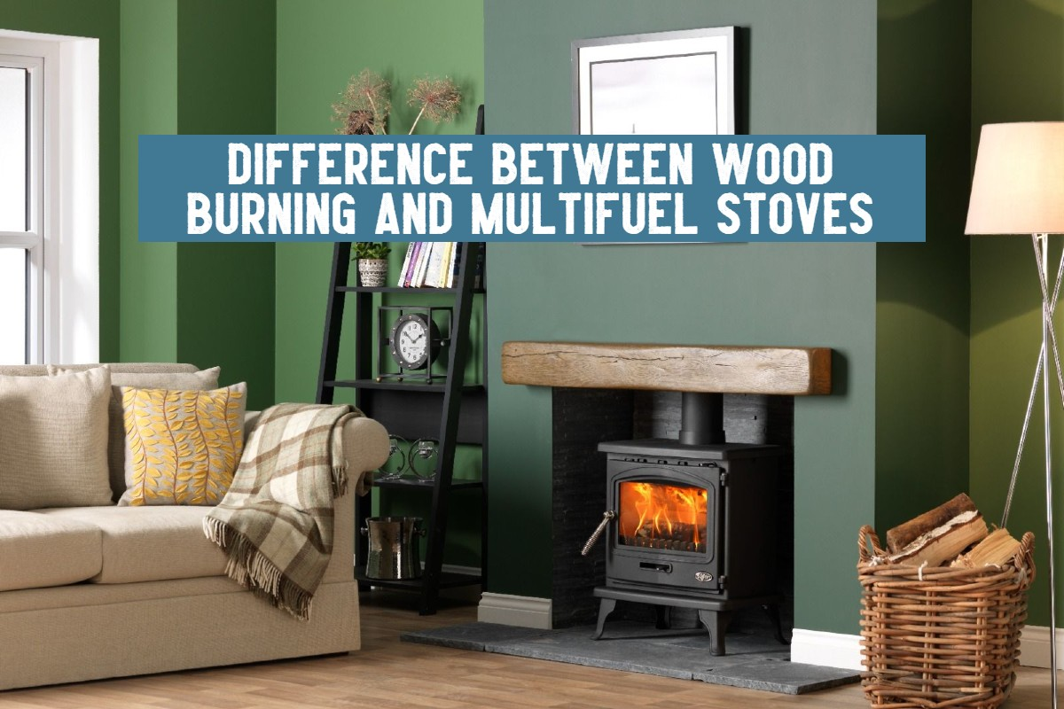 difference wood burners and multifuel stoves