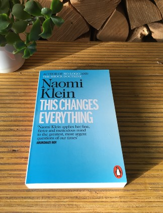 naomi klein this changes everything book about environment and solving climate change