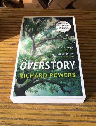 the overstory richard powers fiction book on the environment